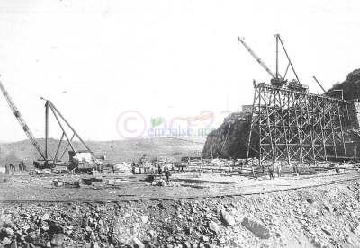 Construcción del Dique Embalse