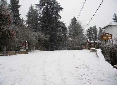 Nieve en Calamuchita