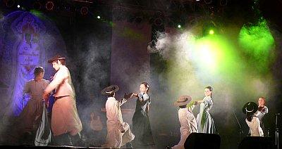 Un Canto a la Vida, noche en que actuó el Chaqueño Palavecino